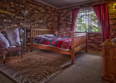 Commercial photography of accommodation bedroom 2