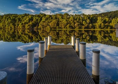 Outdoor photography jetty
