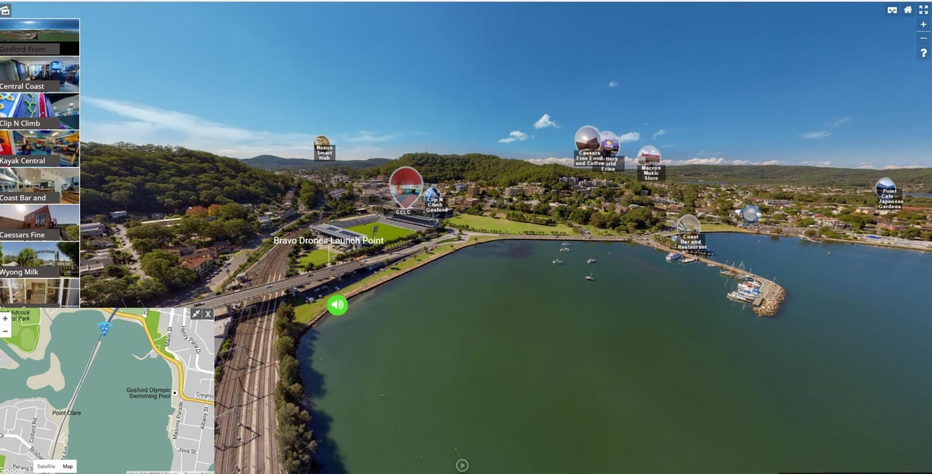 Gosford From Above